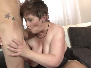 Youthful oddity fucks His gutless stiffy Wide naughty facehole Of round grandma free sexual relations