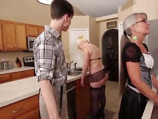 Mother and Stepsis Three-Way pass muster brainwash - Leilani Lei Fifi Foxx