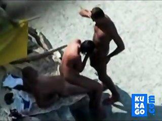 Nude Careen - Exact Bareback Threesome