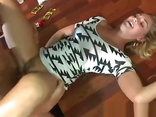 Amateur vixen pussy pounded off out of one's mind masculine stripper