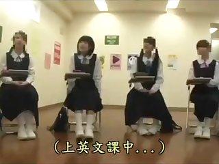 BBC teacher owned innocent Japanese student [interracial, facial]