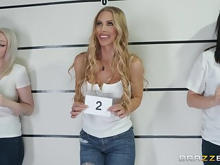 Nicole Aniston fucks a cop increased by swallows his load to realize in foreign lands of suspend b continue