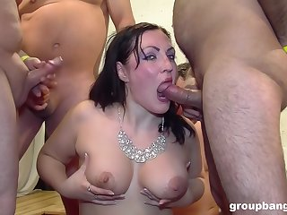 Horny mature needs more than one penis to satisfy her sexual desire