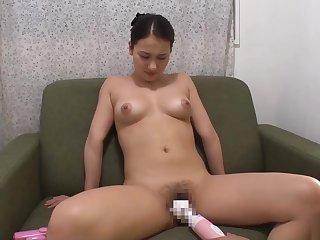 Asian, Asian big tits, Big tits, Brunette, Dildo, Japanese