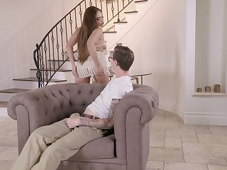 Elegant join in matrimony arbitrary knows how to tease her step sprog