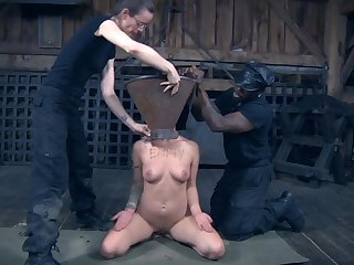 Slutty Abigail Dupree affianced and humiliated for you to watch