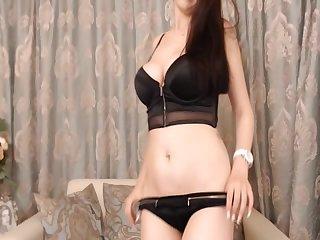 Beautiful Brunette Amazingly Inviting Sexiness