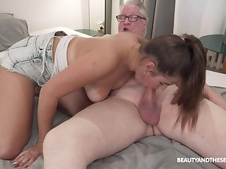 Teen beauty suits grandpa with the fuck be advisable for his life