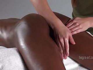 Triple excellent orgasm massage
