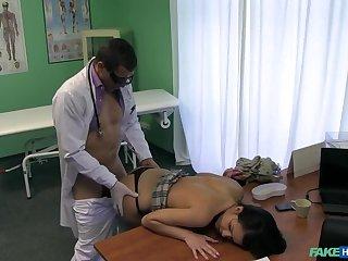 Doctor Cures Stiff Shawl On touching Stiff Blarney