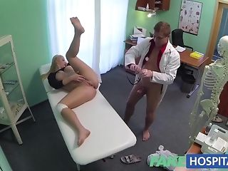 Blond takes a dosage of healing pleasure gel on her tastey baps sex video