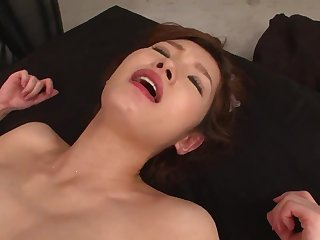 JAV hard-core three way cooch cutting with super-steamy cougar in a sundress