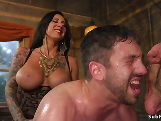 Alt mistress with an increment of master gangbang guy